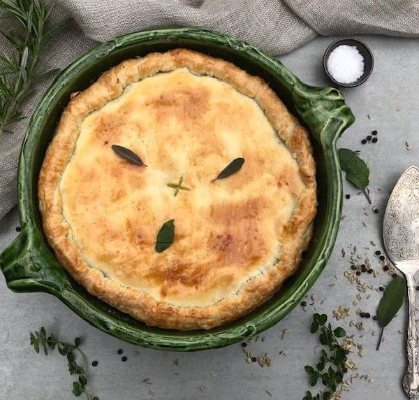 DIVINE Pork, apple and fennel pie